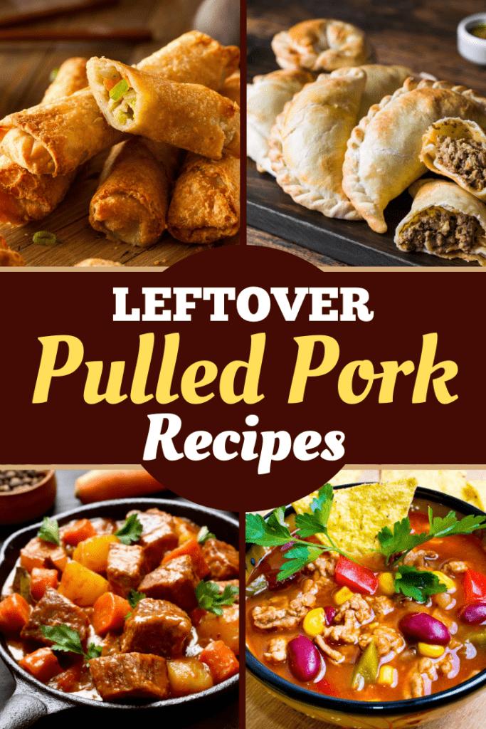 Leftover Pulled Pork Recipes