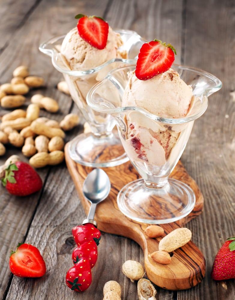 Peanut Butter Jelly Ice Cream