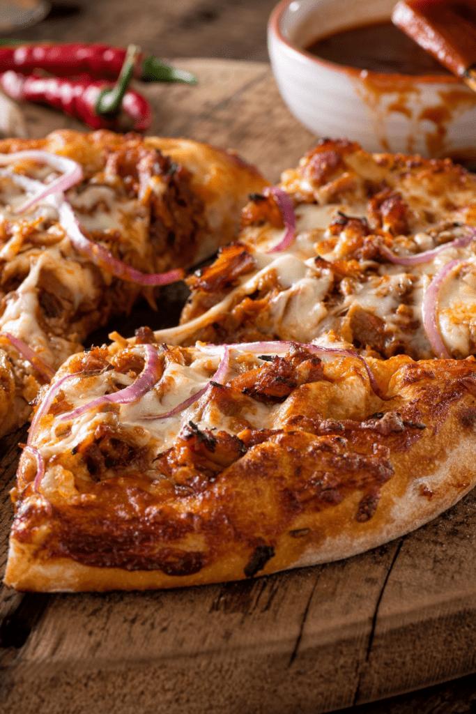Pulled Pork Pizza