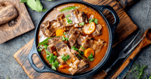 Beef Bourguignon with Vegetables