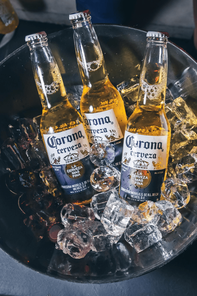 Cold Mexican Beer - Corona