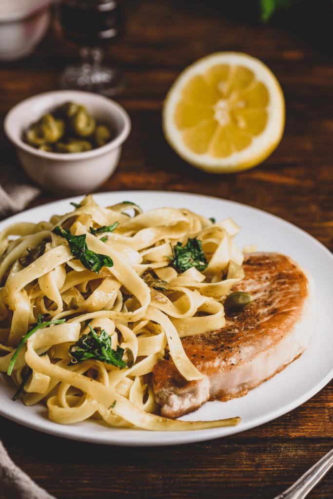 Lemon Caper Pasta