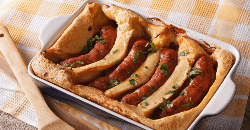 Savory Breakfast Ideas: Toad In the Hole
