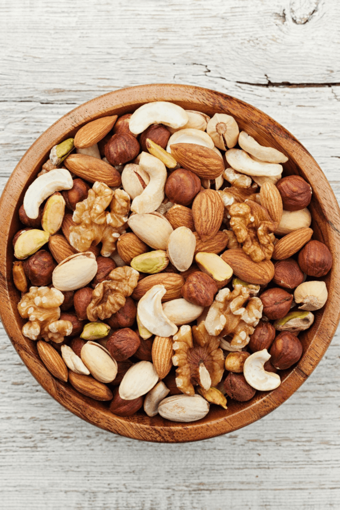 Assorted Nuts: Cashews, Pecans and Walnuts