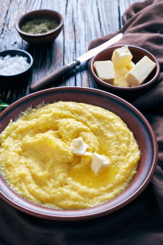 Buttered Polenta