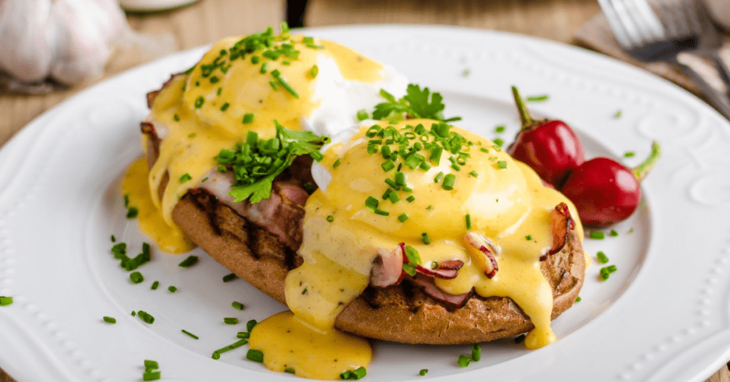 Eggs Benedict with Fresh Herbs