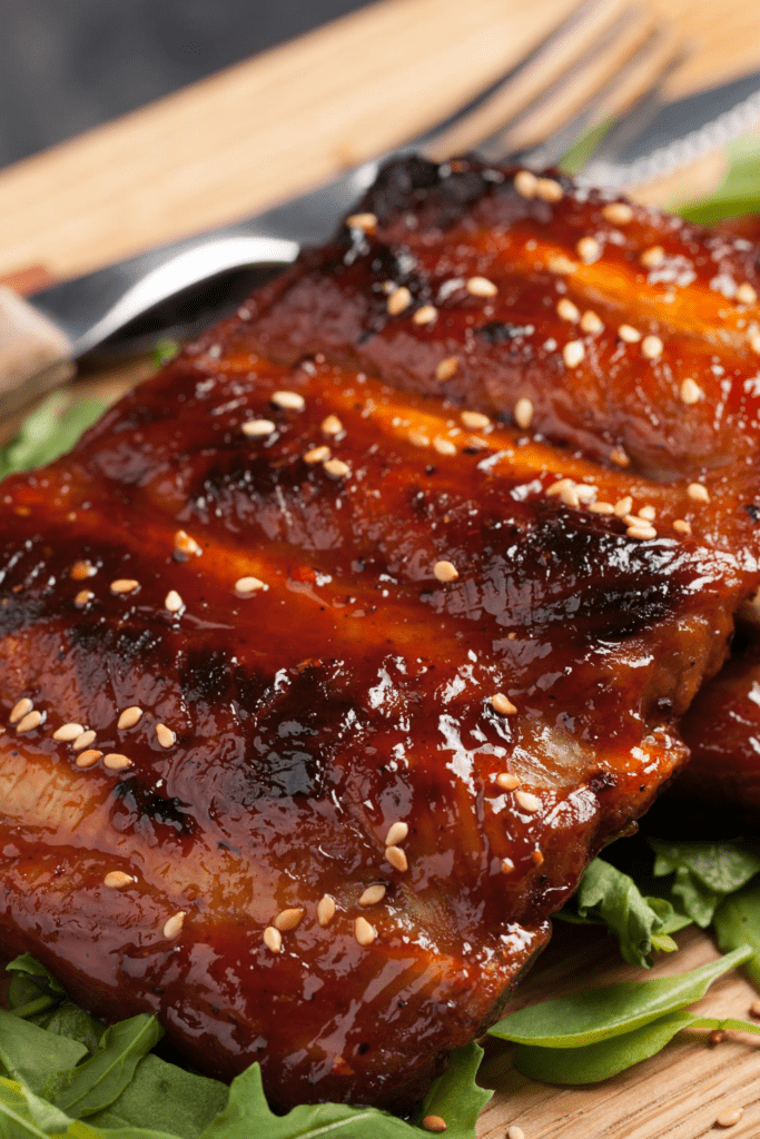 Grilled Ribs with Sesame