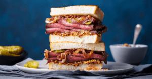 Homemade Pastrami Sandwiches
