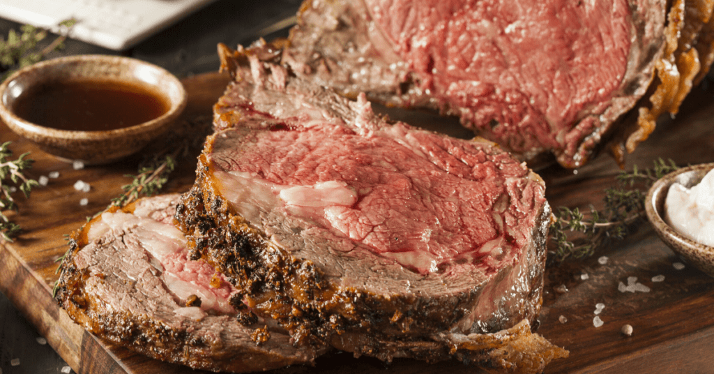 Homemade Prime Rib Steak