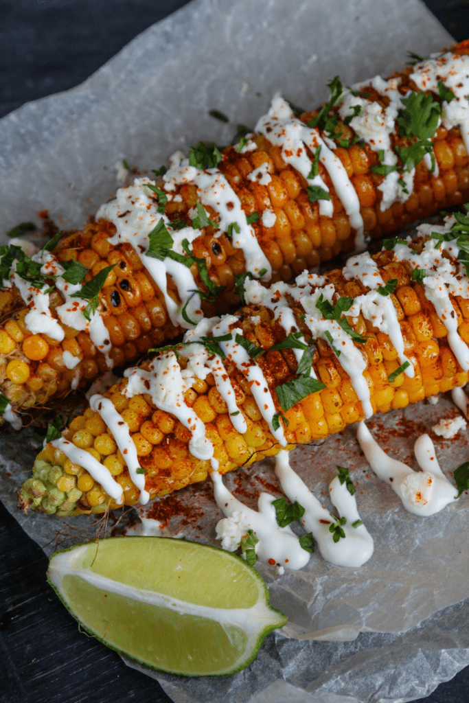 Mexican Street Corn Elote