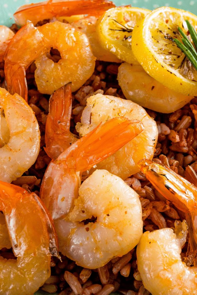 Marinated Shrimp with Lemon