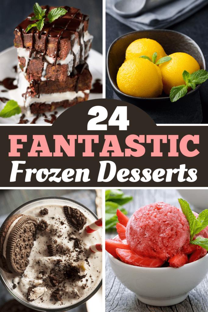 24 Fantastic Frozen Desserts