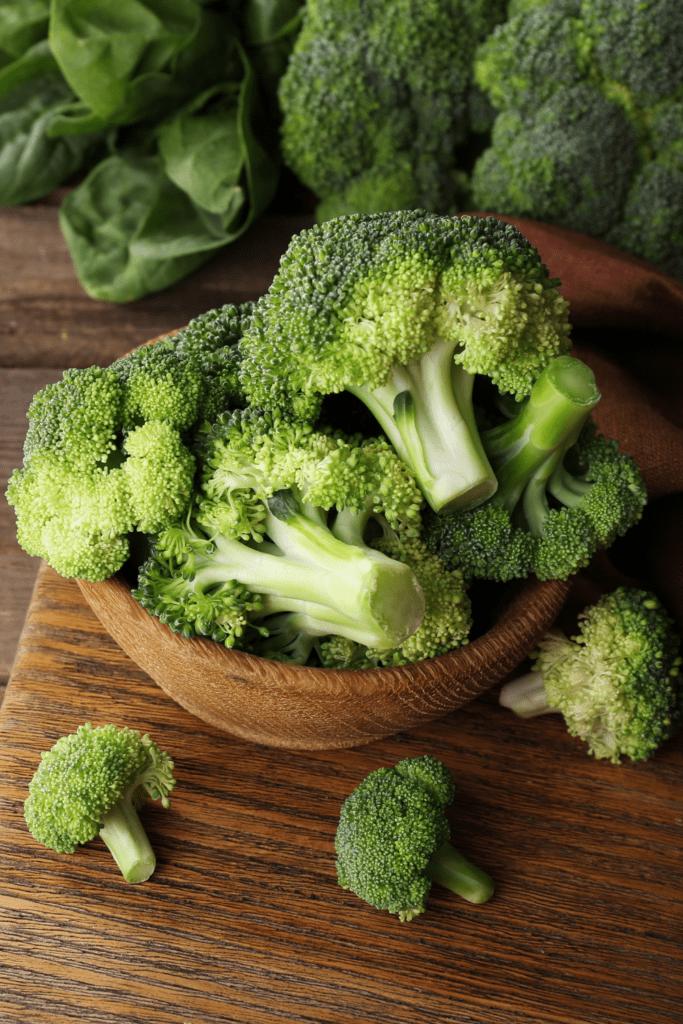 Bowl Of Fresh Broccoli