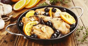 Chicken Marbella with Olives and Lemons