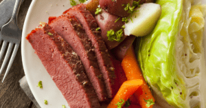 Corned Beef with Side Dishes