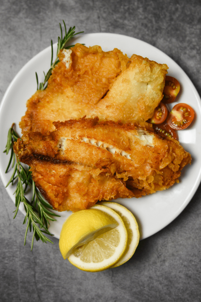Fried Tilapia with Lemons
