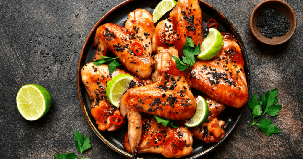 Grilled Teriyaki Chicken Wings