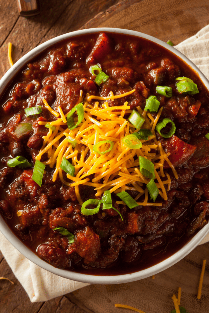 Homemade Chili Corn Carne