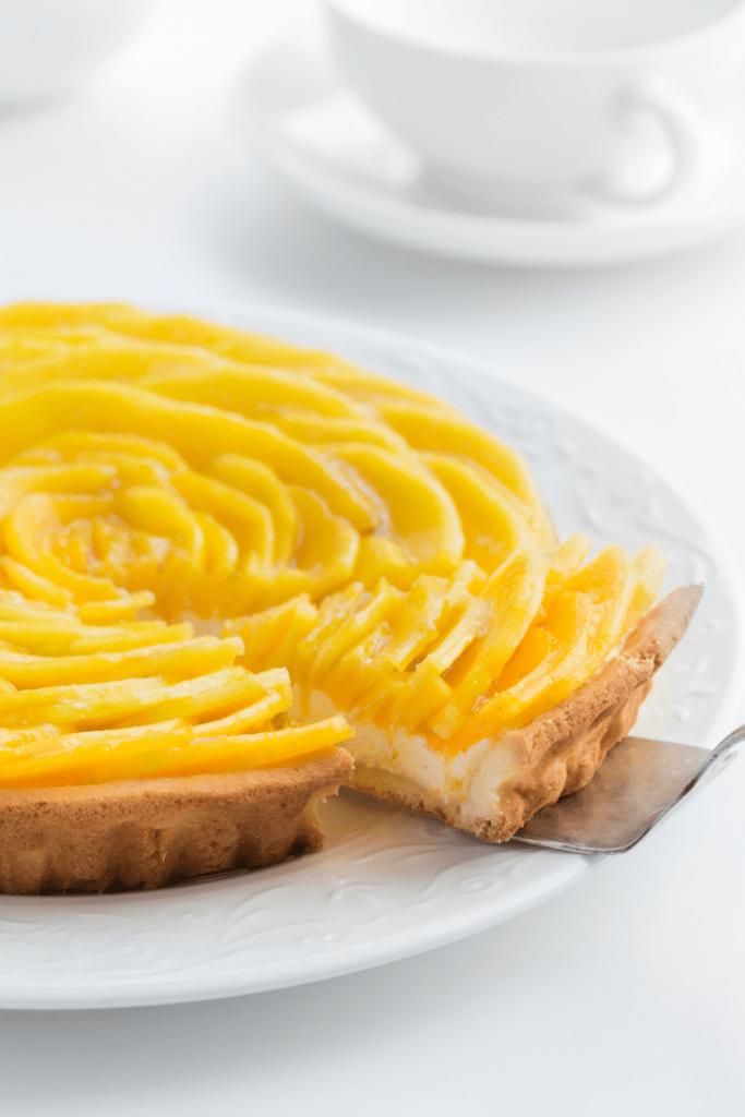 Homemade Mango Tart