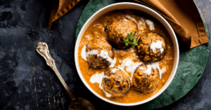 Indian Dish Malai Kofta