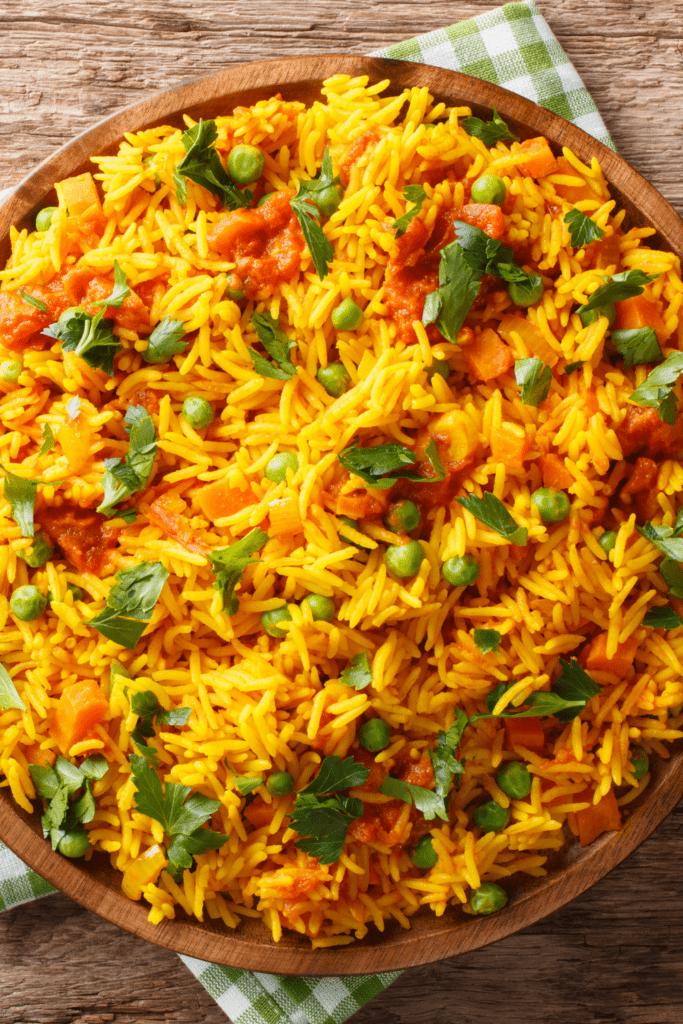 Pulao Rice with Veggies