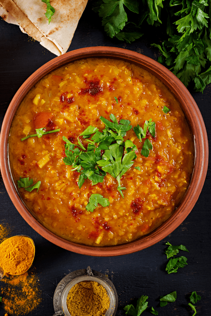 Traditional Indian Soup Dhal