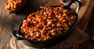 BBQ Baked Beans in a Skillet