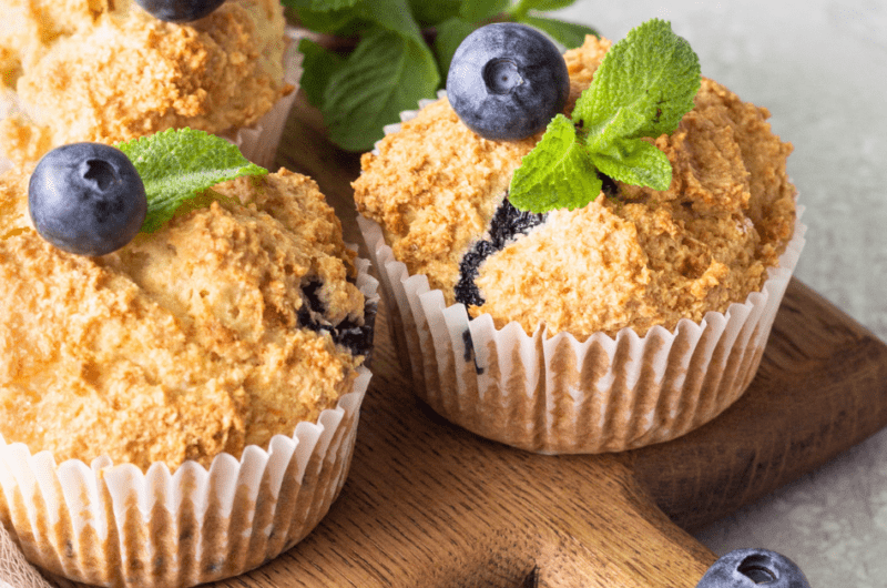 Starbucks Blueberry Muffins (Copycat Recipe)
