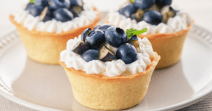 Blueberry Tartlets with Cream Cheese