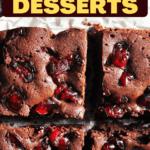 Cherry Desserts
