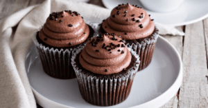 Chocolate Cupcakes with Chocolate Chips
