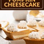 Double Layer Pumpkin Cheesecake