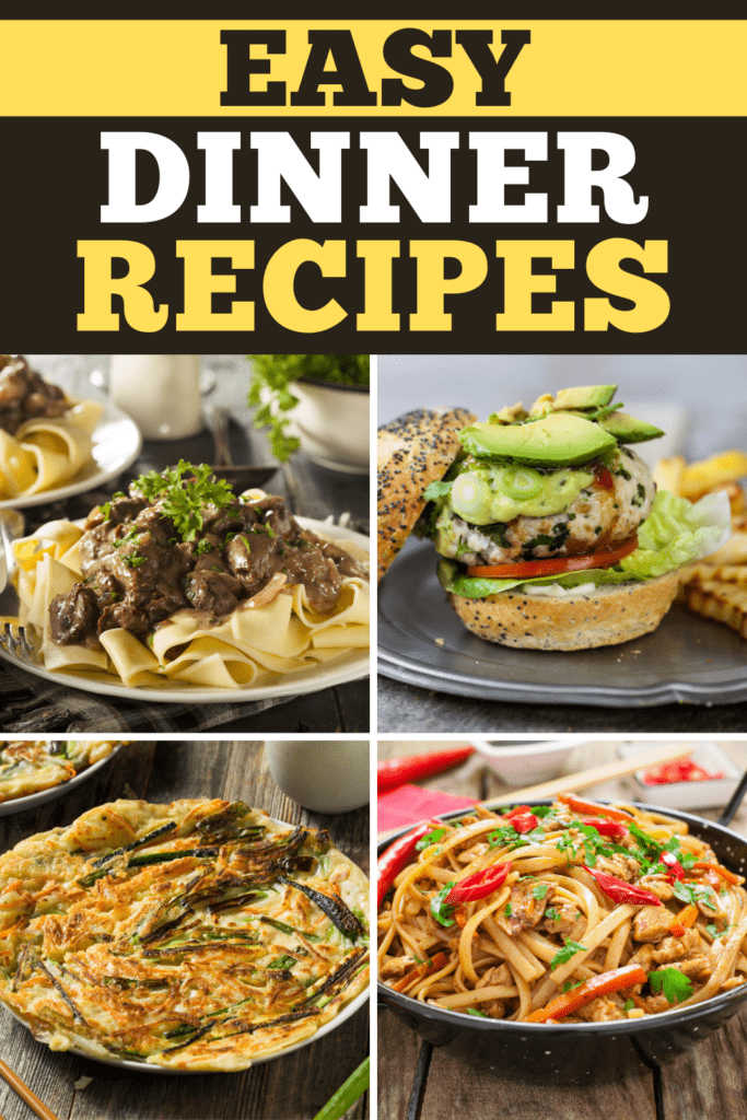 Easy Dinner Recipes