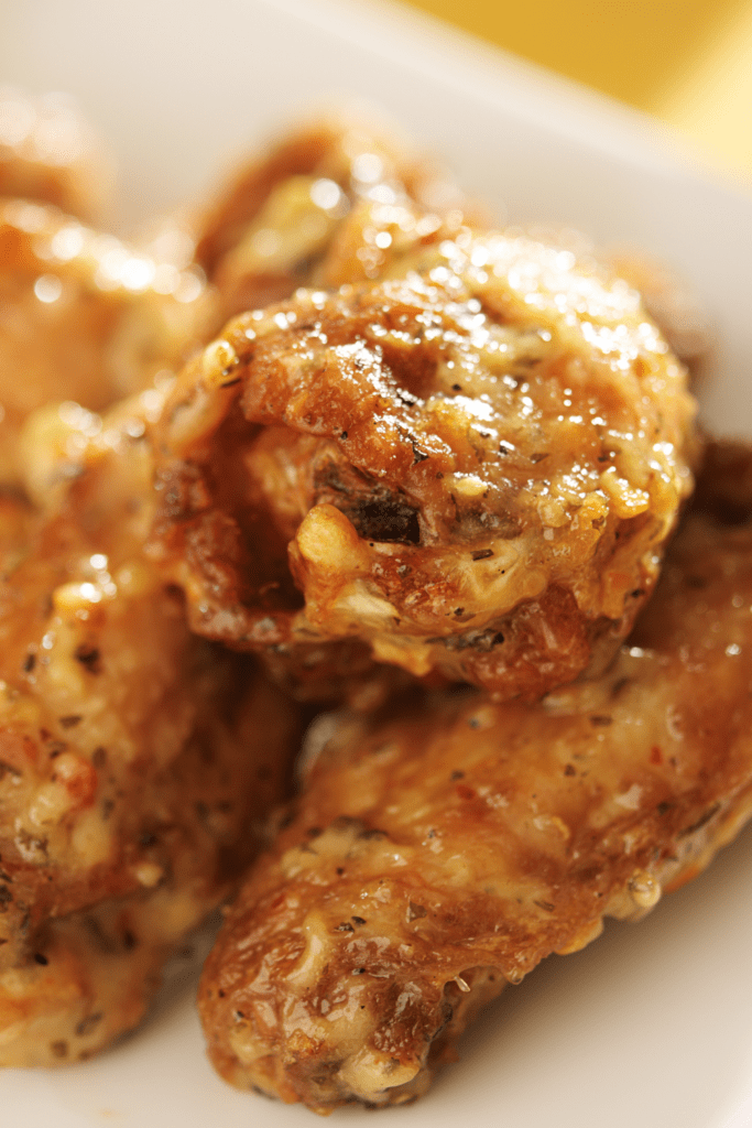 Garlic Parmesan Chicken Wings