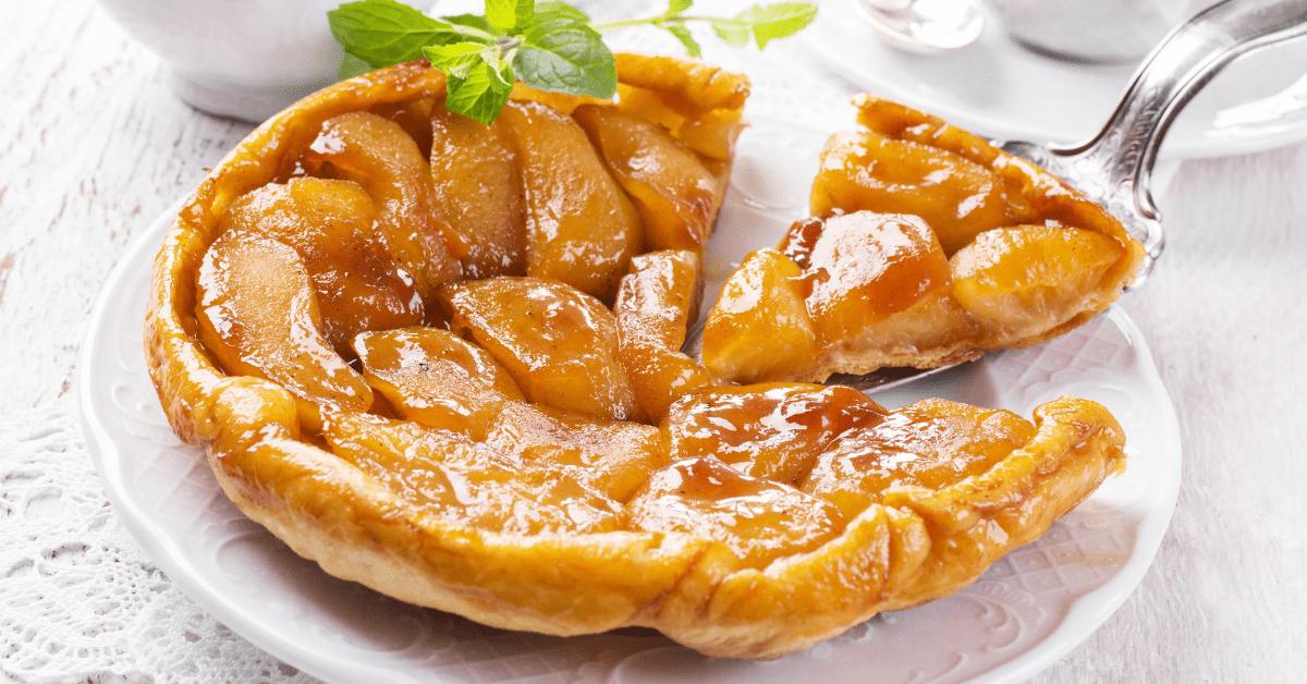 Homemade Caramel Apple Tart