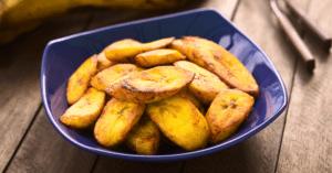 Homemade Fried Plantains