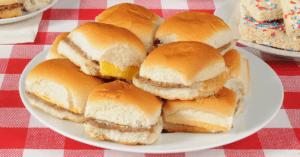Homemade Mini Cheeseburgers