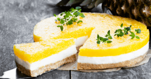Homemade Pineapple Cheesecake