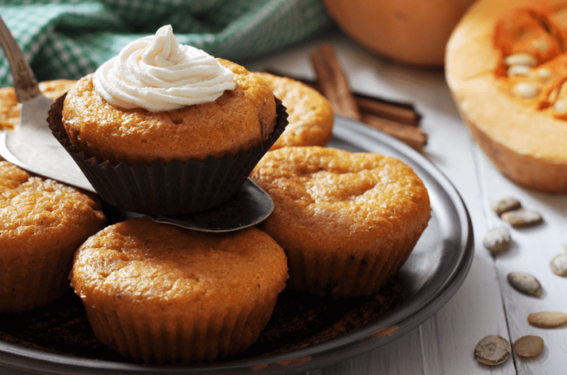 Starbucks Pumpkin Muffins (Copycat Recipe)