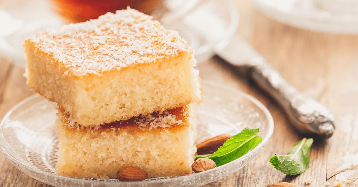 Homemade Revani Cake
