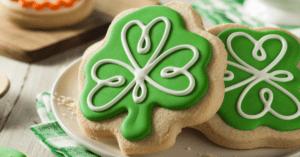 Homemade Shamrock Cookies