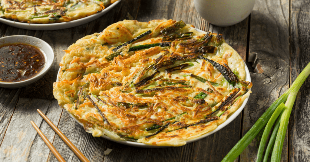 Korean Padjeon Pancakes