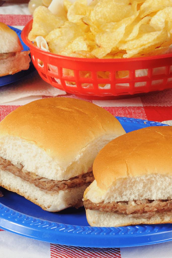 Mini Cheeseburger or Sliders