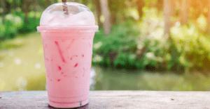 Pink Drink Strawberry Smoothie
