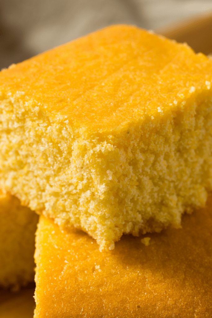 Stacks of Cornbread