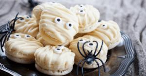 White Mummy Cookies