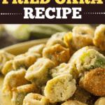 Cracker Barrel Fried Okra Recipe