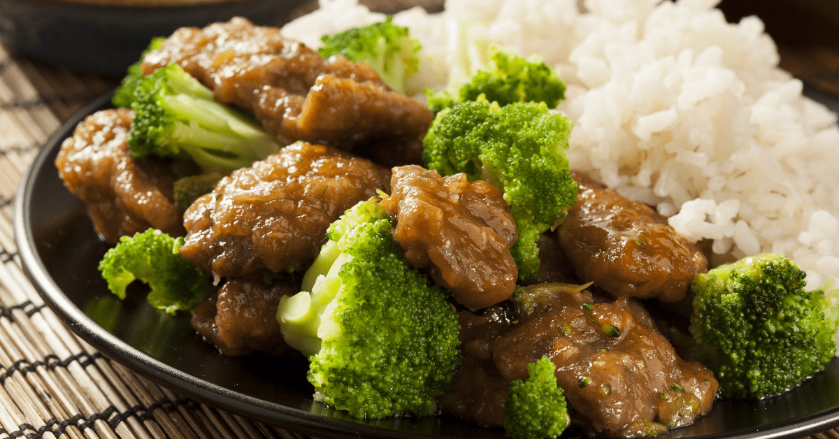 Delicious Beef and Broccoli with Rice