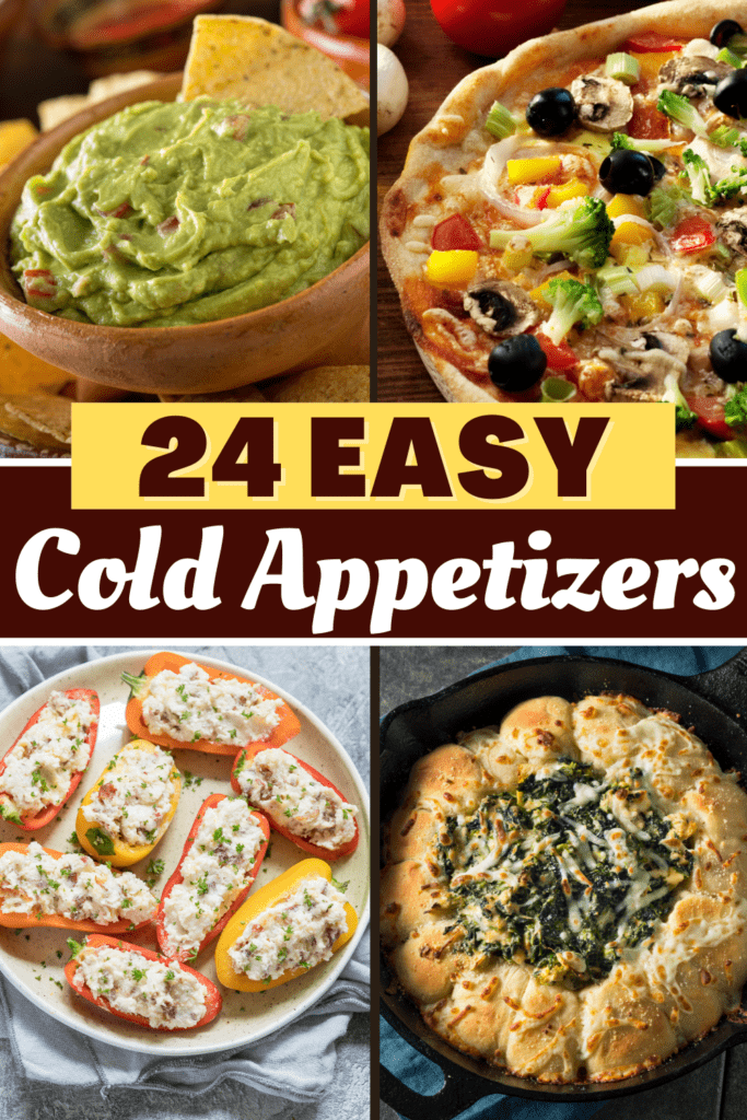 24 Easy Cold Appetizers