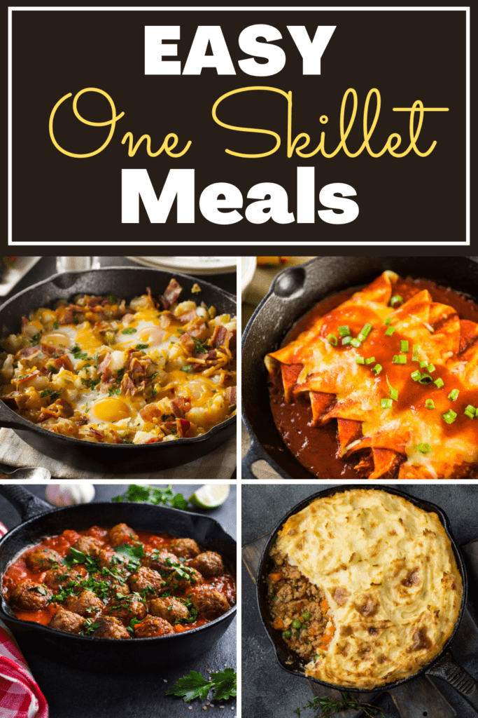 Easy One Skillet Meals